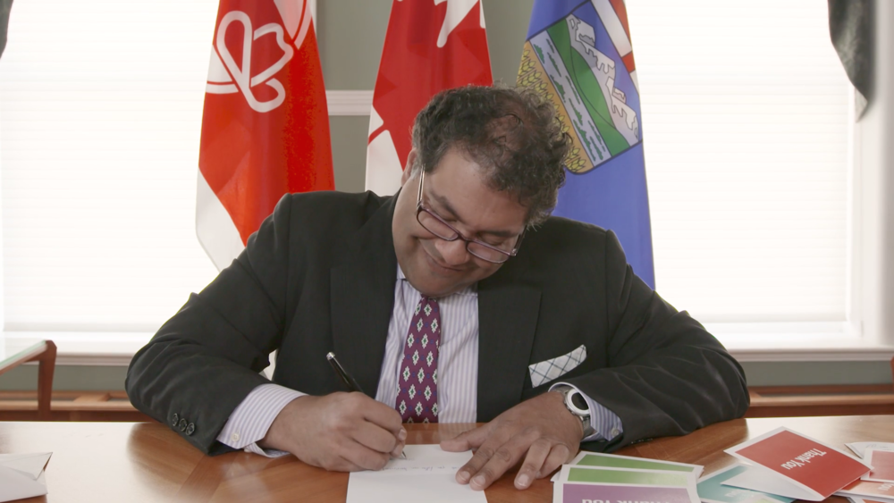 Thank You Notes from Nenshi - featured work