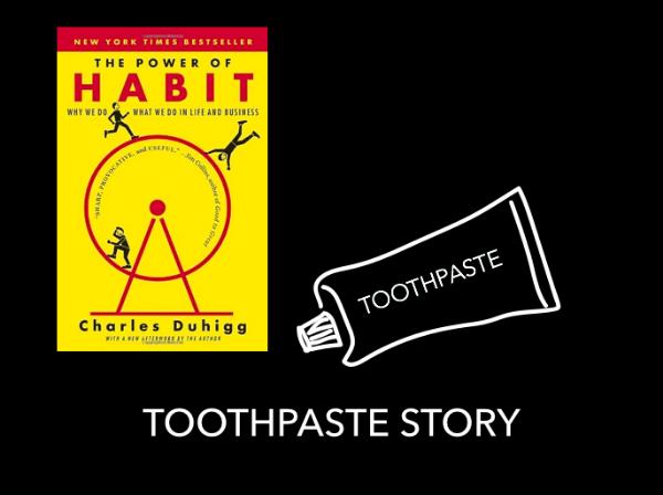 This book on Amazon:http://www.amazon.com/Power-Habit-What-Life-Business/dp/081298160X/ref=sr_1_1?ie=UTF8&qid=1442407767&sr=8-1&keywords=the+power+of+habit