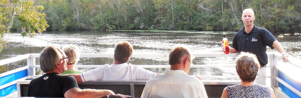 "A lovely evening with Waccamaw River Tours learning about wine during a "" Wine On the river"" boat Tour."