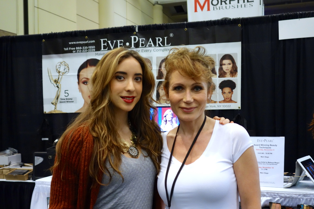 Jeyda and Makeup Artist extraordinare Ms. Eve Pearl