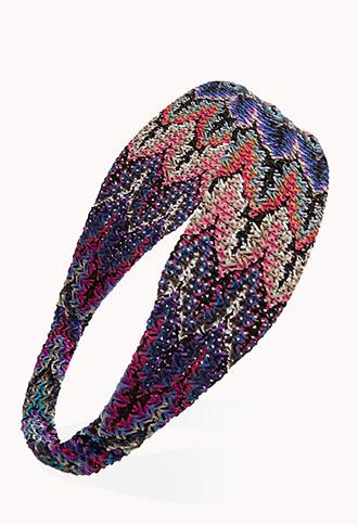 Worldy Open-Knit Headwrap Forever 21- $4.80