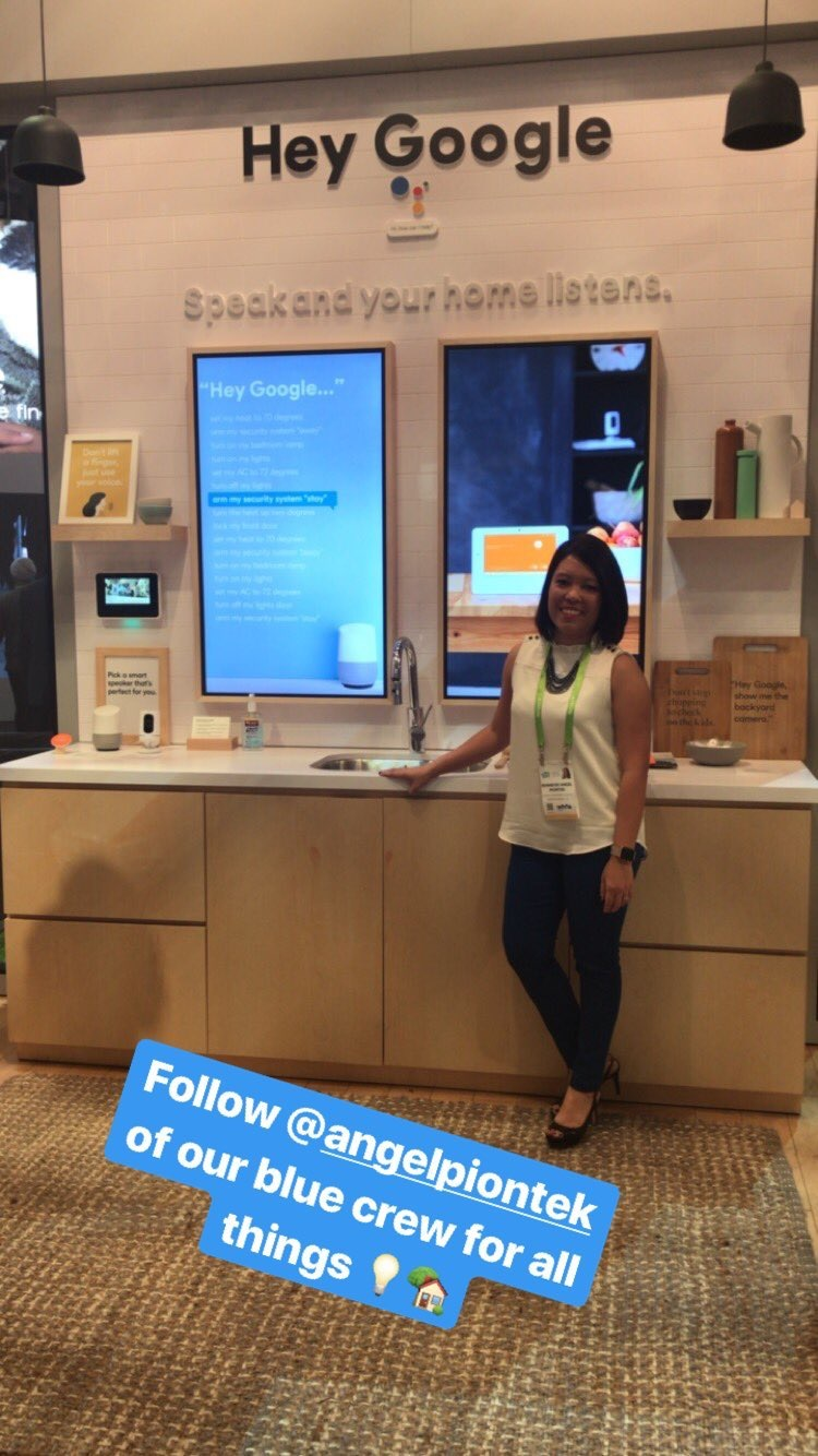 Google at Vivint booth