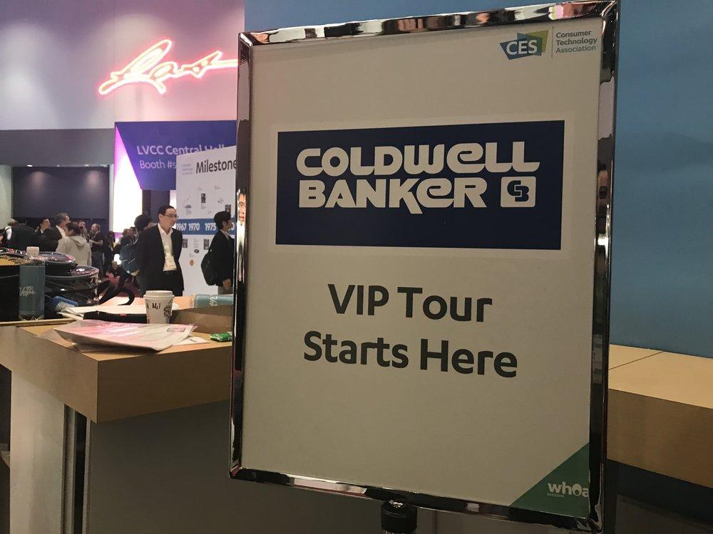 Coldwell Banker VIP Tour!