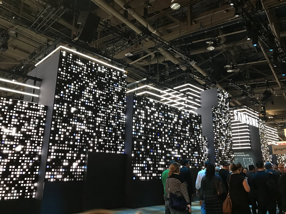 Samsung Display - Largest booth at CES