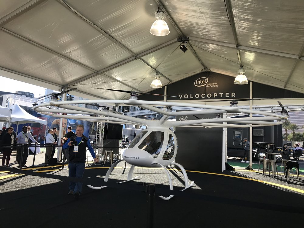 Volocopter - Intel wants you inside a drone
