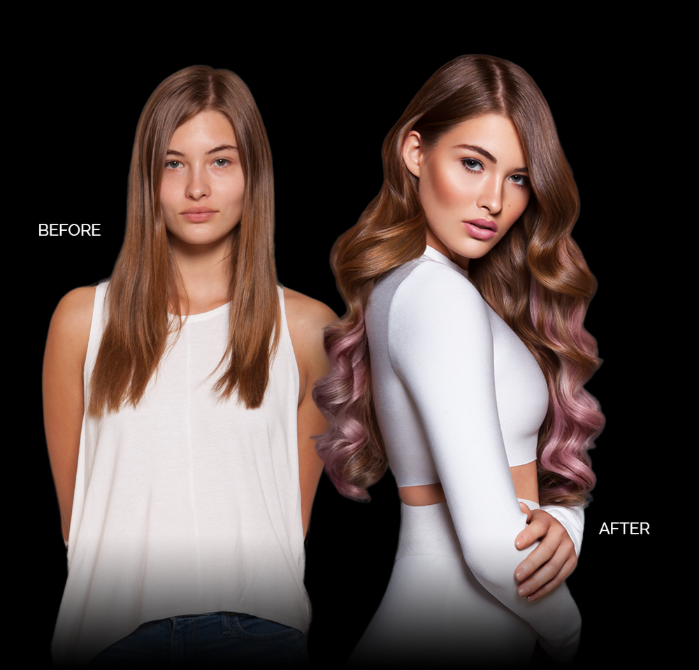 Hair Extensions Color Lounge