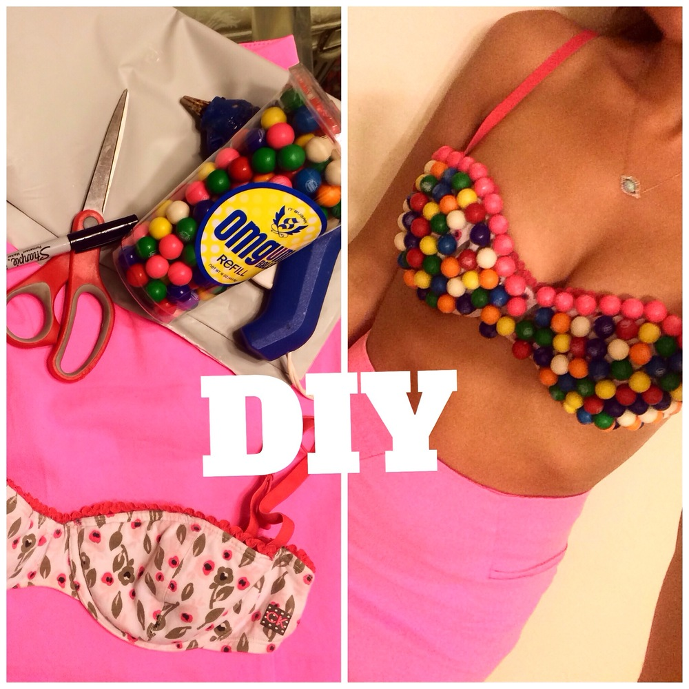 DIY Halloween Costume_gumball machine costume