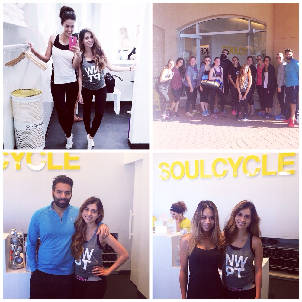 soul cycle_spin class_newport beach_charity event_lette macarons_choc