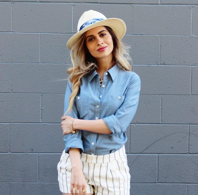 mixing prints_savvyjavvy_fashion blogger_melrose_la blogger_stylestalker blazer_cynthia vincent_tuxe bodywear_michael stars