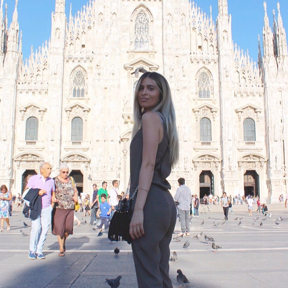 Michael stars_green jumpsuit_savvy javvy_milan street style_milan_milan fashion_milan fashion week_mfw_journey with javvy_what to see in milan_best places to shop in milan_best places to eat in milan_best pasta in milan_what to do in milan_sightseeing in milan