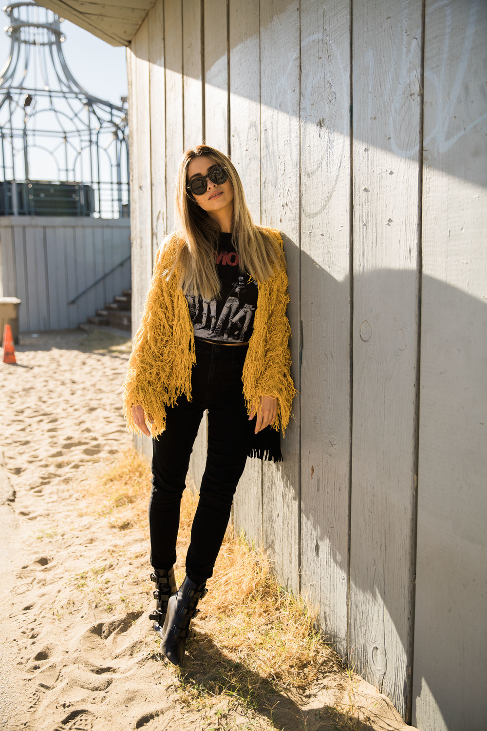 foray collective_savvy javvy_mate the label_fashion blogger_la_santa monica_fuzzy jacket_ramones_la style_street style_benjamin smith_roguefoto_ben smith photographer_lovers and drifters jacket_
