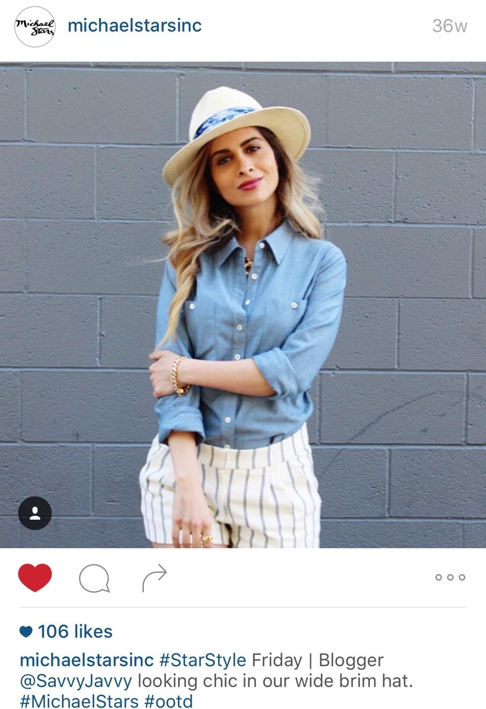 Michael Stars Instagram