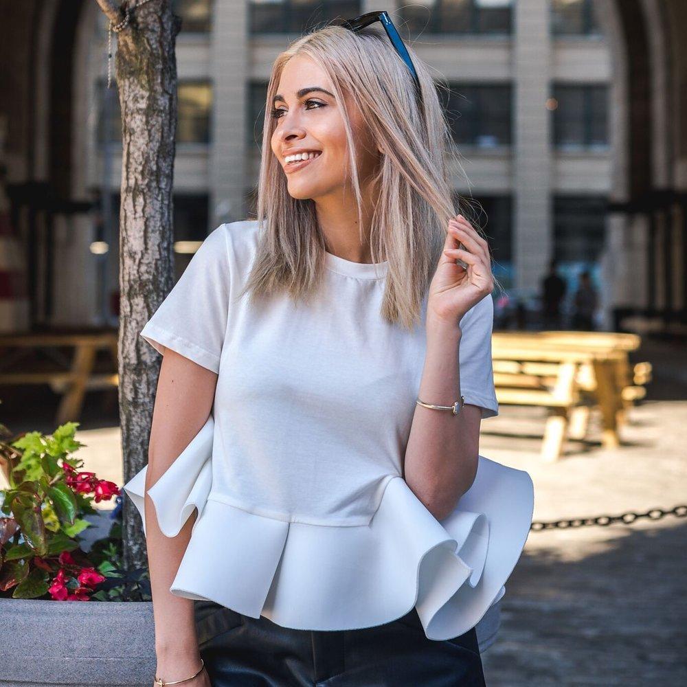flirty top_date night blouse_feminine top_feminine style_romwe_savvy javvy_nyc_nyc street style_street style_nyc blogger_la blogger_leather shorts_chunky heels