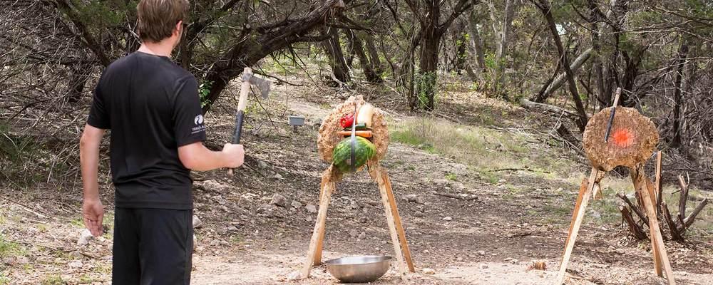 Hatchet Culinary Demo