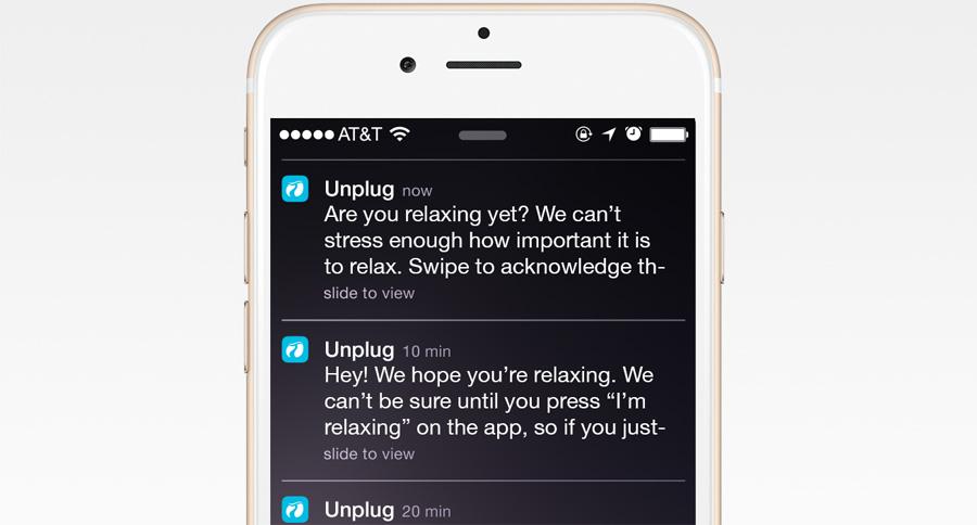 Unplug App