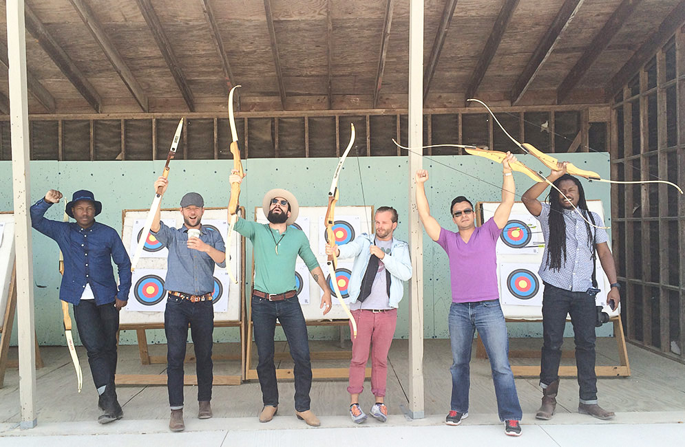group-archery