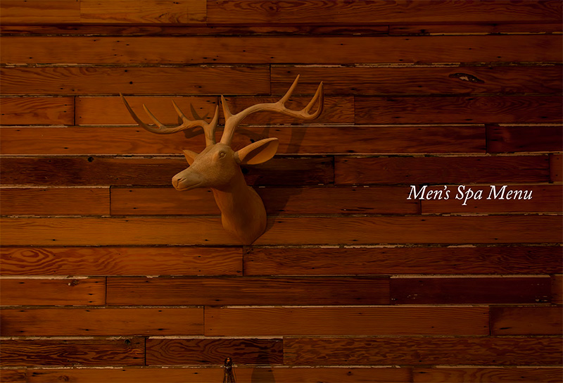 Men's Spa Menu