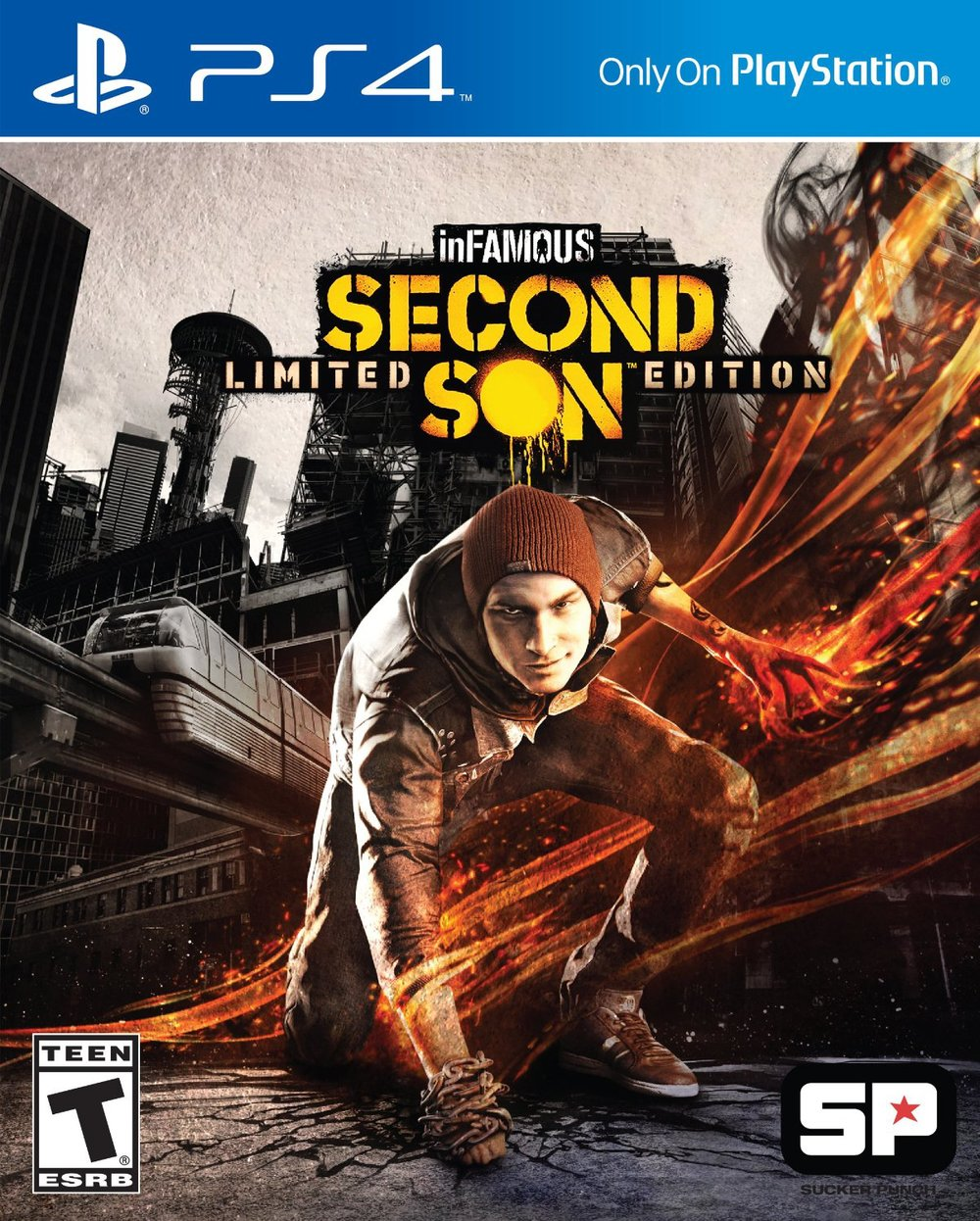 inFAMOUS: SECOND SON:  Kirsten voiced two characters in this game, the third in its widely successful franchise.