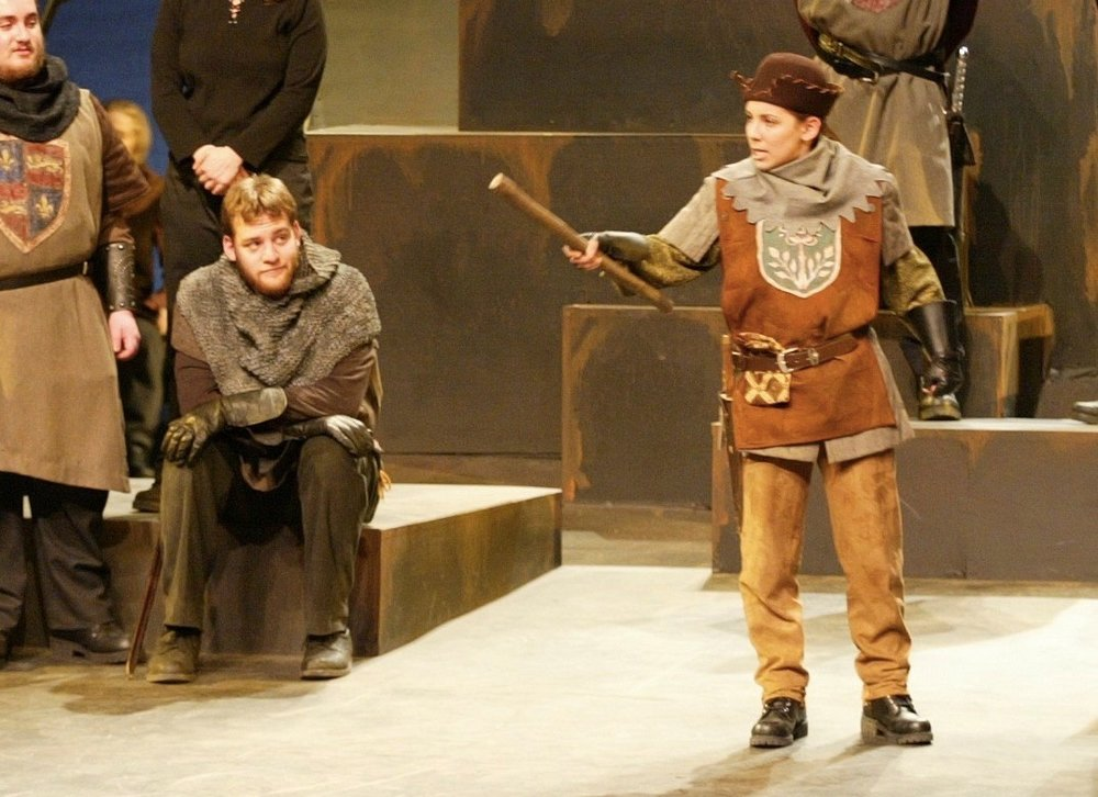 as Fluellen in Henry V
