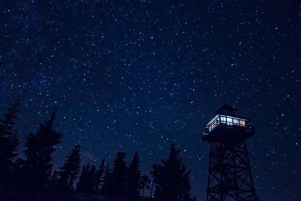 Warner Mountain Lookout. Oregon Cascades.