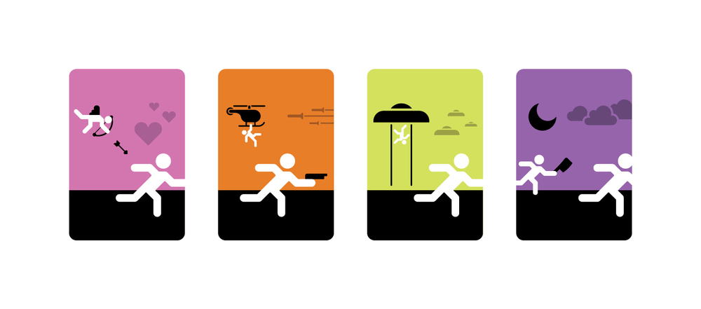 Course: Identity Design | Project: Pictographic System Development & Design - Movie Genre Pictographs