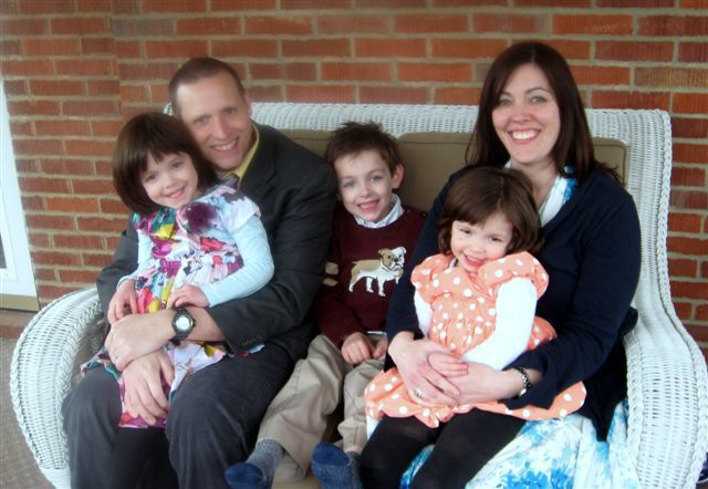 The family of Randall and Piper Kotwica of Pittsburgh as they awaited their new baby