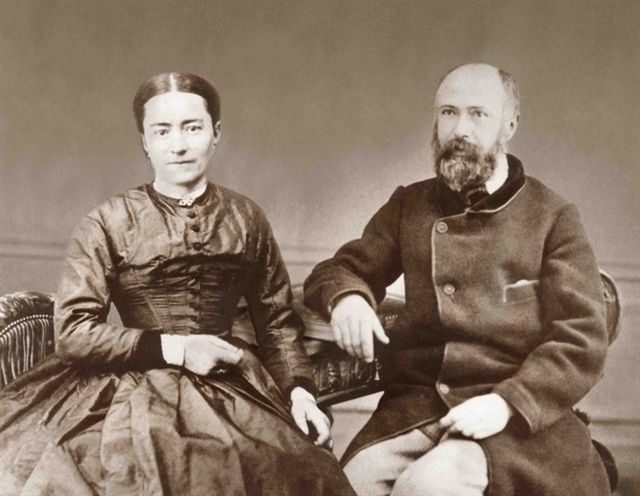 Zelie Martin and Louis Martin.  Photo credit: Sanctuaire d'Alencon