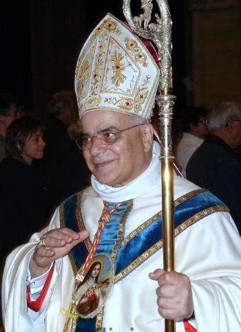 CArdinal Sarava Martins, Basilica of Notre-Dame Alencon, October 18, 2008