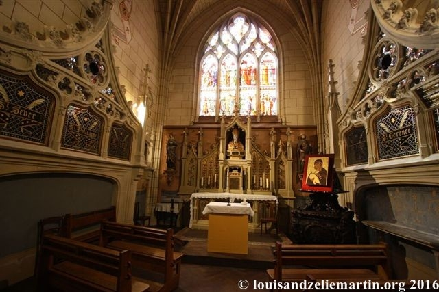 "The ""chapel of the bodies of the saints"" at St. Eulalie's Church in Bordeaux"