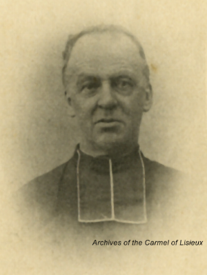 Father Victor-Pierre Rohee, Arch-priest of St. Pierre's Cathedral in Lisieux, 1883-1898.