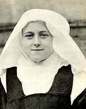 St. Therese in 1889, aged 16 Credit: Archives of the Carmel of Lisieux