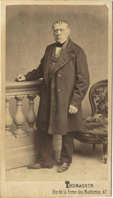 Isidore Guerin, the father of St. Zelie Martin and the grandfather of St. Therese of Lisieux.  Photo credit:  Web site of the Archives of the Lisieux Carmel