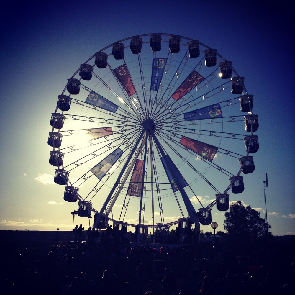 a roda gigante