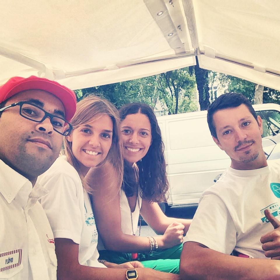a equipa Uber & Santini