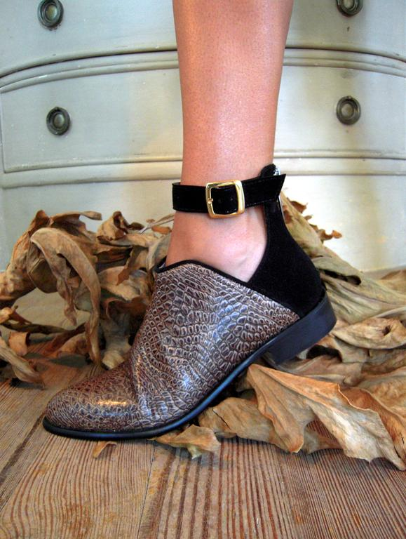 Modelo Crocodile Ana Amorim Shoes