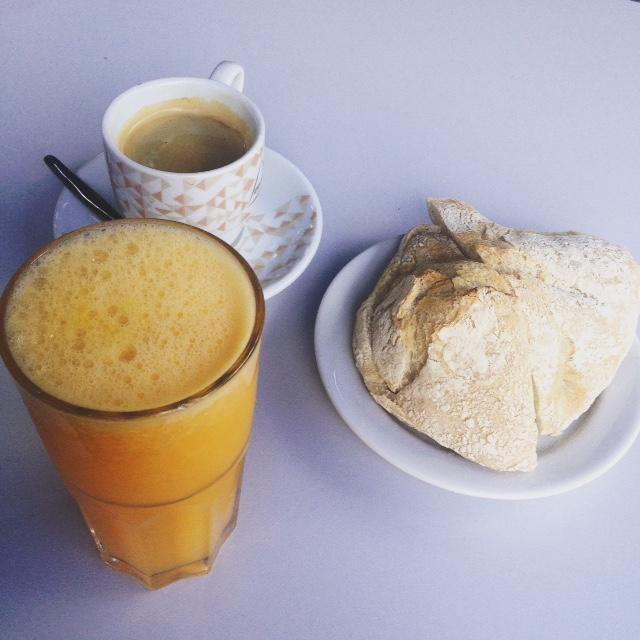 summer portuguese breakfast