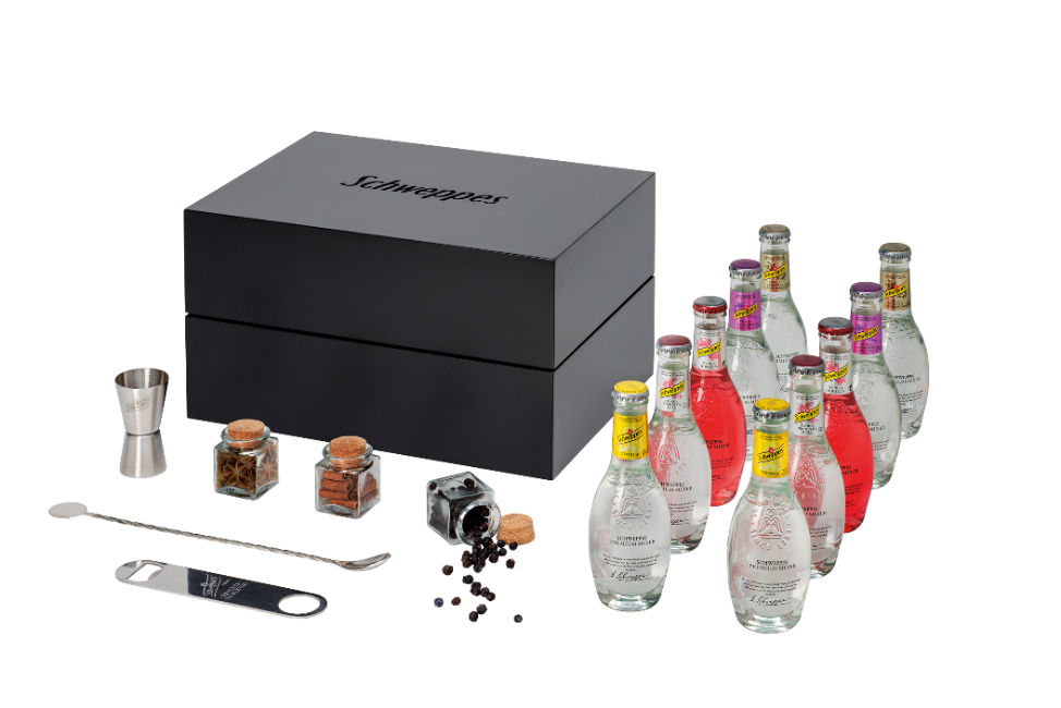 Premium Mixer Box SCHWEPPES