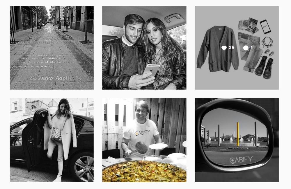 Instagram Cabify ES