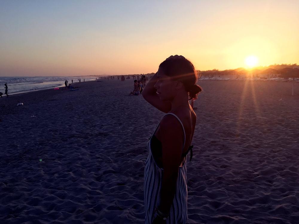 sunset praia verde