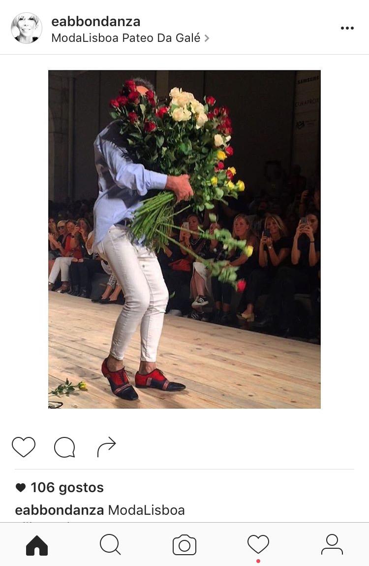 as flores de Filipe Faísca para o público
