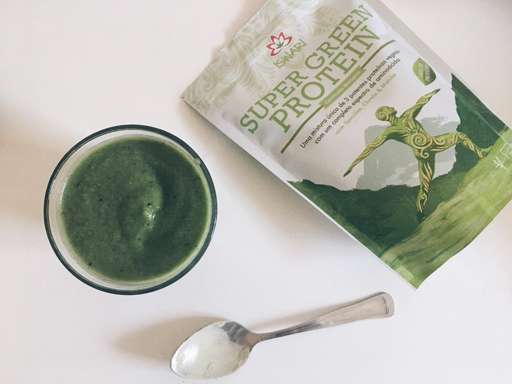 super green protein iswari smoothie