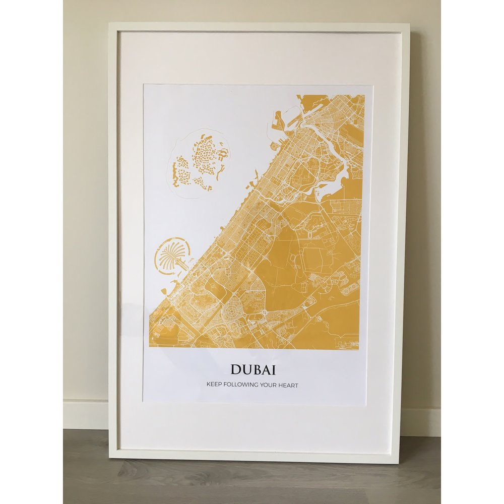 dubai by the mapmakers