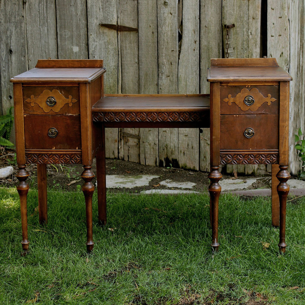 Vintage Vanity Furniture Rentals - American Vintage Rentals Wedding Rentals Furniture, Decor