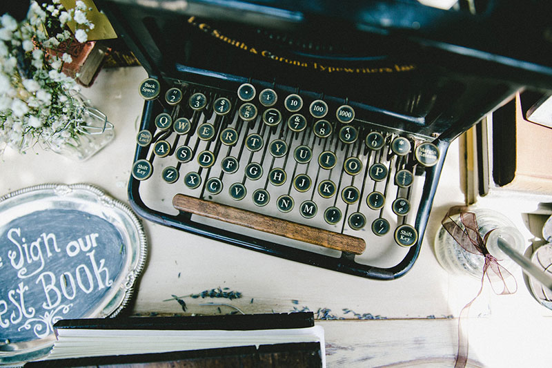 Beautiful Vintage Typewriter