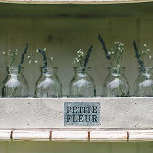 PETITE FLEUR CRATE & BOTTLES - TBD MORE DETAILS & PICS...