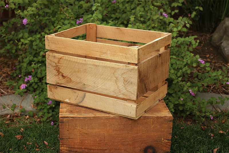 ROUGH HEWN CRATE - $8 QTY OF 2 AVAILABLE