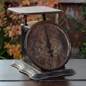 RUSTY PERFECTION SCALE - $8    MORE DETAILS & PICS...