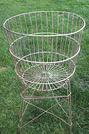 STANDING LAUNDRY BASKET - $15    MORE DETAILS & PICS...