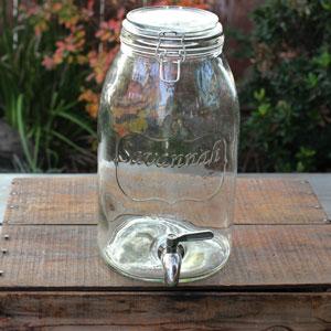 1.5 GALLON DRINK DISPENSER - $10 MORE DETAILS & PICS...
