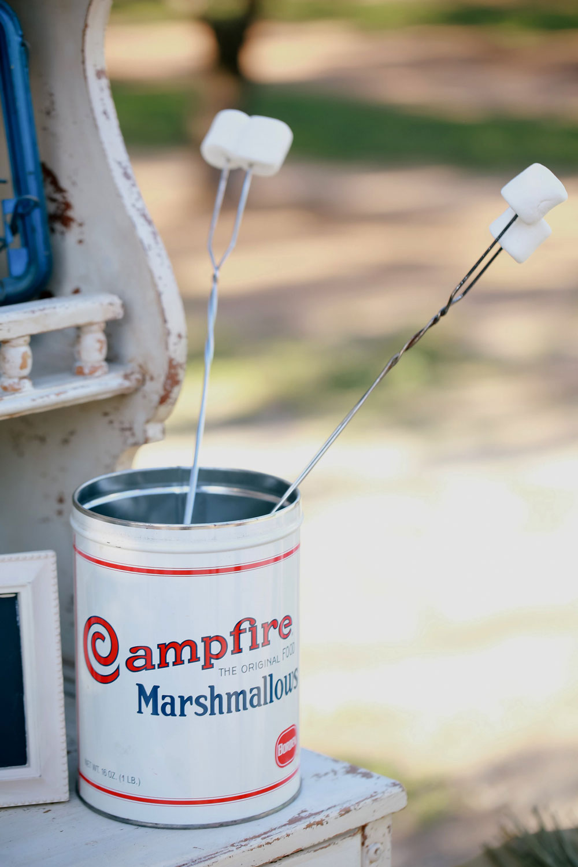 Campfire Brand Marshmallow Tin